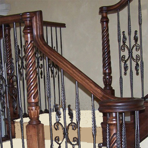 Upeasing, goosenecks and turnouts-stair acccessories and fittings